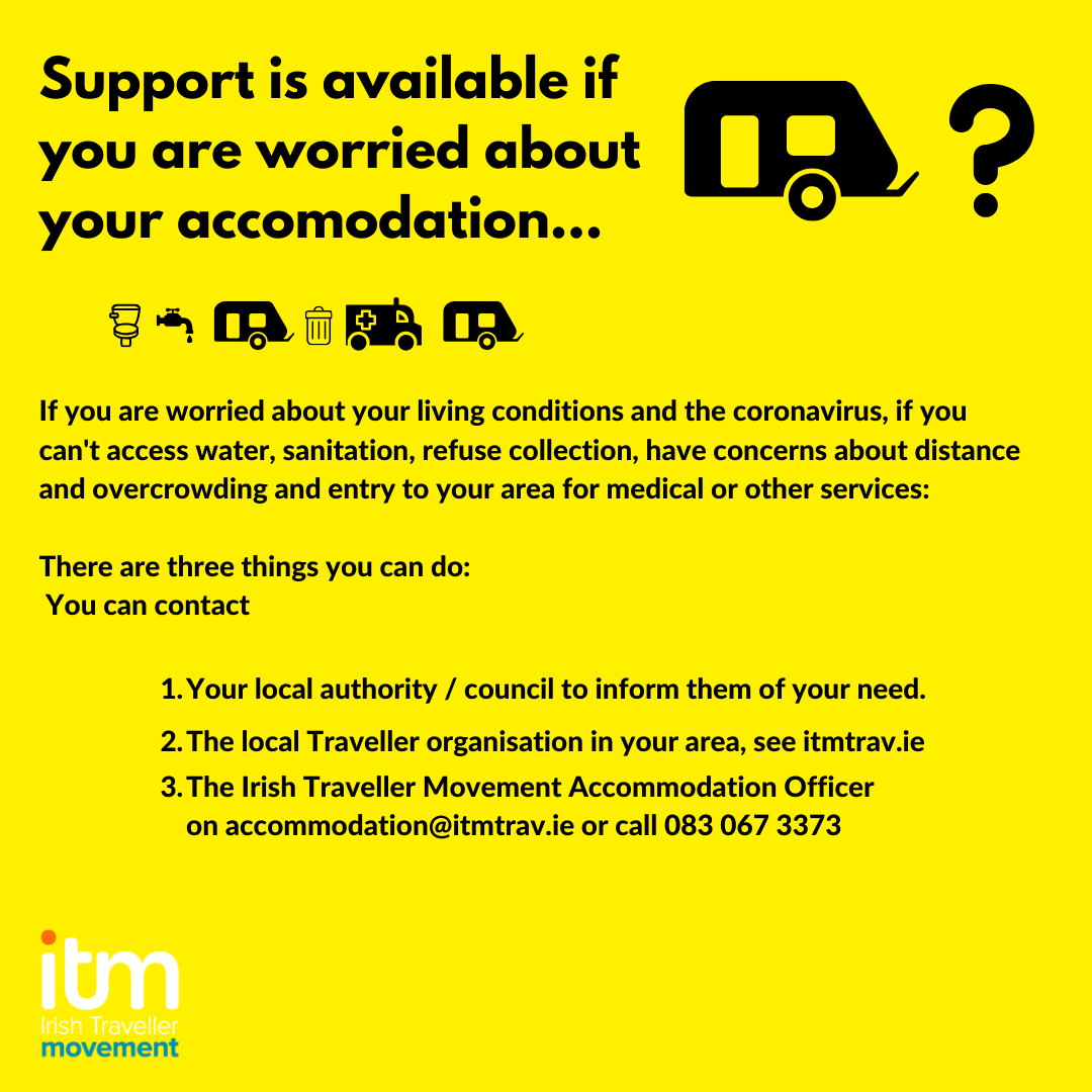 Support is available if you are worried about your accommodation.